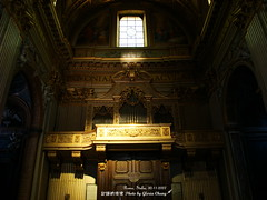 Sant'Andrea della Valle (Gloria Chang) Tags: italy rome roma church chiesa organ   sanandreadellavalle