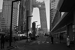 03646 (rudenoon) Tags: architecture cn sony beijing cctv cbd 北京 oma 中国 koolhaas centralbusinessdistrict chaoyang 朝阳区 建筑学 dslra100 chaoyangdistrict cctvbuilding chinacentraltelevision cctvbeijing cctvbldg jimgourley cctvheadquartersbuilding 中央电视台总部大楼 雷姆库哈斯 citechaillot
