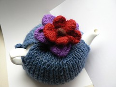 Teacozy with Flower