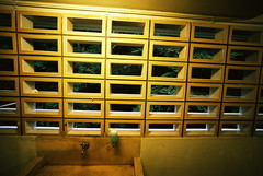 restroom (troutfactory) Tags: film window japan bathroom grid sink voigtlander rangefinder wideangle restroom  analogue kansai 15mm bessal  heliar handsoap minoh
