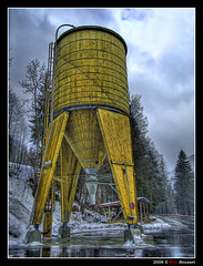 Spaceship Silo from Swissland (First picture for 2008.....) (Eric Rousset) Tags: voyage wood travel sky snow alps tree clouds photoshop alpes landscape photography switzerland raw suisse cs2 sony cybershot silo ciel adobe bec nuages 2008 arbre soe hdr highdynamicrange bois photomanipulated dscf828 photomatix bisous swissland supershot tonemapping mywinners abigfave anawesomeshot colorphotoaward aplusphoto flickrplatinum superbmasterpiece infinestyle diamondclassphotographer megashot excellentphotographerawards theunforgettablepictures betterthangood proudshopper theperfectphotographer thegoldendreams piproduction ostrellina ericrousset ericroussetphotography