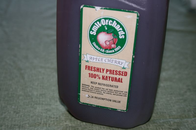 Organic Apple-Cherry Cider