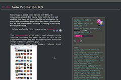 My Flickr tools #09 - Auto Pagination (jmvnoos in Paris) Tags: flickr tools software tool flickrtools addons addonn jmvnoos