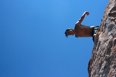 DeepBreath (Symic) Tags: road trip family summer vacation sky cliff sun lake wet rock kyle fun utah back jump sandstone south breath gray deep off southern crew take powell ready takeoff chill blast robinson prepare hanks keone