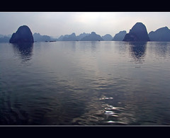 Vietnam - Halong Bay (Megara Liancourt) Tags: blue reflection water vietnam halongbay sonydscf828 vnhhlong platinumphoto diamondclassphotographer flickrdiamond photofaceoffwinner platinumheartaward