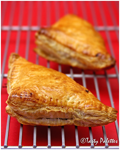 Cardamom-Clove Falvoured Apple Turnovers