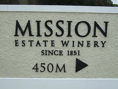 Mission Estate Winery (Tkuta) Tags: newzealand sign wine hawkesbay