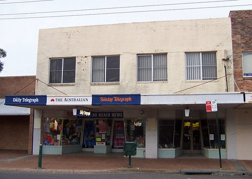 Old shops Ocean View Road Ettalong