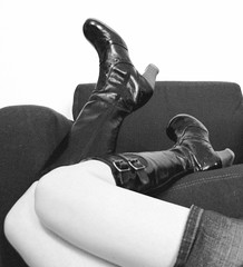 these boots (trixiebedlam) Tags: iaimtoknees