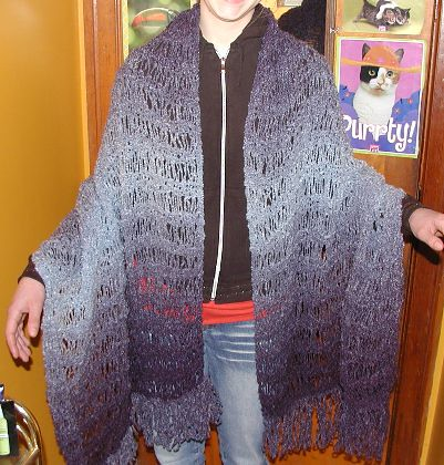 Ravelry Light Lovely Boucle Wrap Pattern By Jo Ann Fabric And
