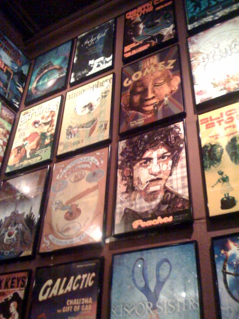 Posters @ Fillmore, San Francisco