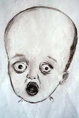 deformed II (Dorien and Harmony) Tags: baby ugly ugliness deformed chernobyl hydrocephalus