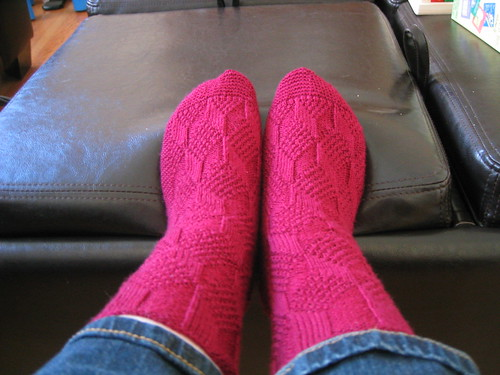 Finished Reversai socks