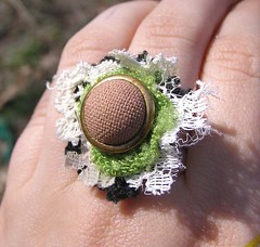 Ladies Garden Club Fingernest Ring