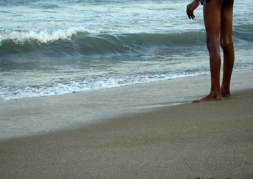 Besant Nagar Beach, Madras