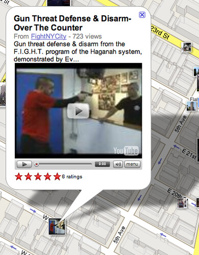 Videos on Google Maps