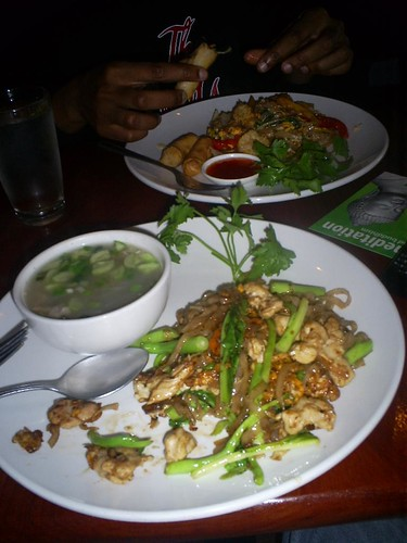 Chicken/Cucumber Soup w/ Pad Si-Wei