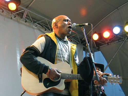 Archie Roach in song