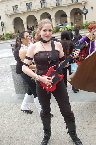 Outside Fanimecon 2008: Guitar Hero