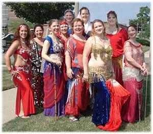 Habibi Dancers 2006