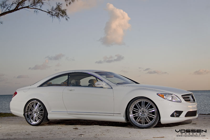 Vossen Wheels On The Mercedes Benz CL 550