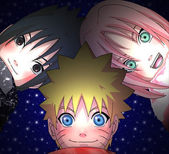 Naruto- Team 7 kids (anime27fan [gone...]) Tags: cute kids chibi dream sakura naruto uzumaki sasuke uchiha team7 haruno