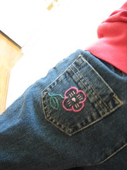 Maddy's jeans - back pocket