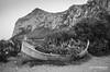 Capo Gallo Barcarello (Antonino Chiappone Surdi) Tags: capogallo barcarello barca boat sferracavallo sicilia sicily biancoenero