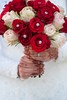 The Brides Bouquet (bsubeh) Tags: tokina 100mm henna roses wedding bouquet bride ring diamond reception mehndi dress