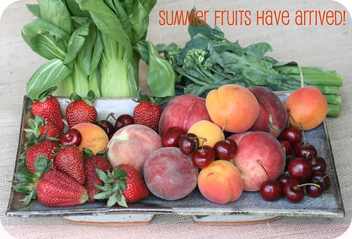 Food Librarian - Summer Fruits!