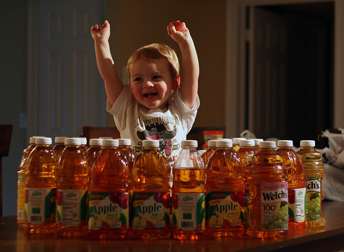 If my son wants Apple Juice, I'll GIVE HIM APPLE JUICE!!!