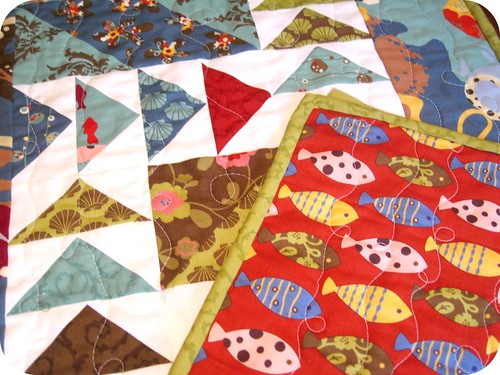 Flying Fish Table Runner Pic #6 (rounded corners)