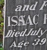 Vassar Jewish Cemeteries (caboose_rodeo) Tags: 6270 isaachershjuly191925age39 miscarvingspelling