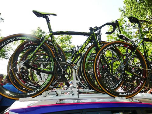 Lampre Wilier team bikes