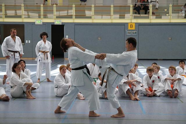 Kumite Demonstration