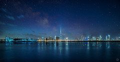 Fairy tale Dubai (vineetsuthan) Tags: water dubai uae fairy hdr d800 milkyway vineetsuthan muhaisana4