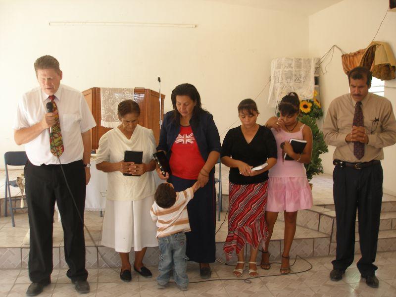 Praying with Baptismal Candidates