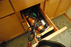 middle drawer, before