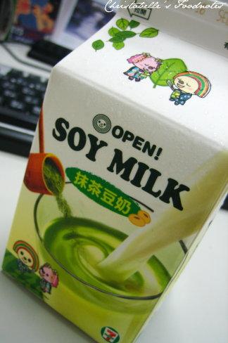 open小將抹茶豆奶