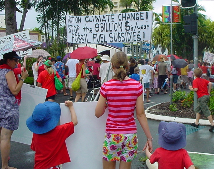 Walk Against Global Warming Cairns 2007 / photo # 05