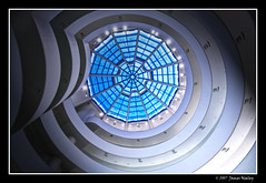 Looking Up (James Neeley) Tags: nyc newyorkcity ny newyork architecture bravo franklloydwright guggenheim guggenheimmuseum magicdonkey mywinners jamesneeley ostrellina
