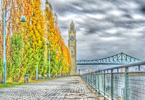 Vieux Port Montreal HDR + Tone Mapping