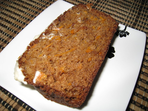 Carrot Cake with Maple Cream Cheese Frosting on Closet Cooking