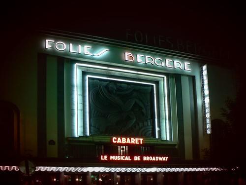 Cabaret aux Folies Bergère