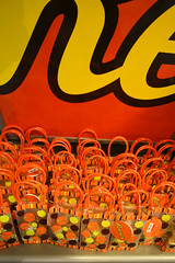 Take a Guess! (r0b0r0b) Tags: orange yellow pennsylvania chocolate shelf cups butter peanut sweets bags reeses cavities hersheypa