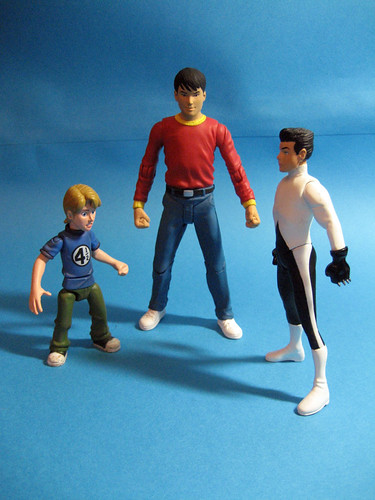 Franklin, Billy Batson, Damien