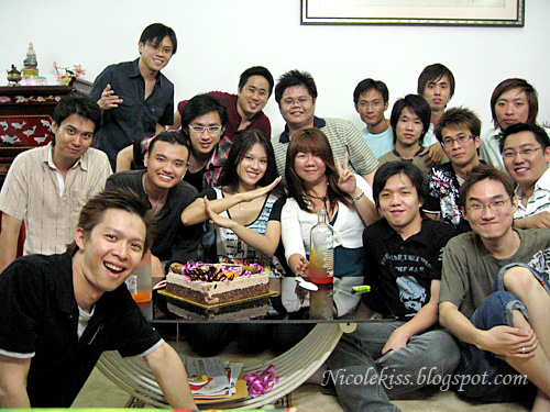 23rd birthday group photo
