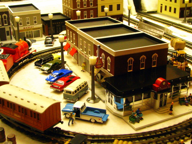 Model Train Display #6