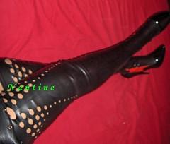 latexstiefel5 (Kwnstantina) Tags: woman long latex nylon longlegs overkneeboots latexboots goddessnantine femalelongnails
