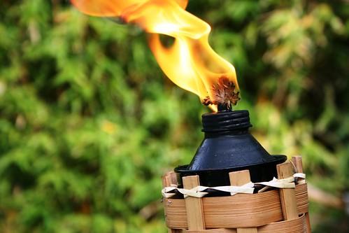 Citronella Tiki Torch